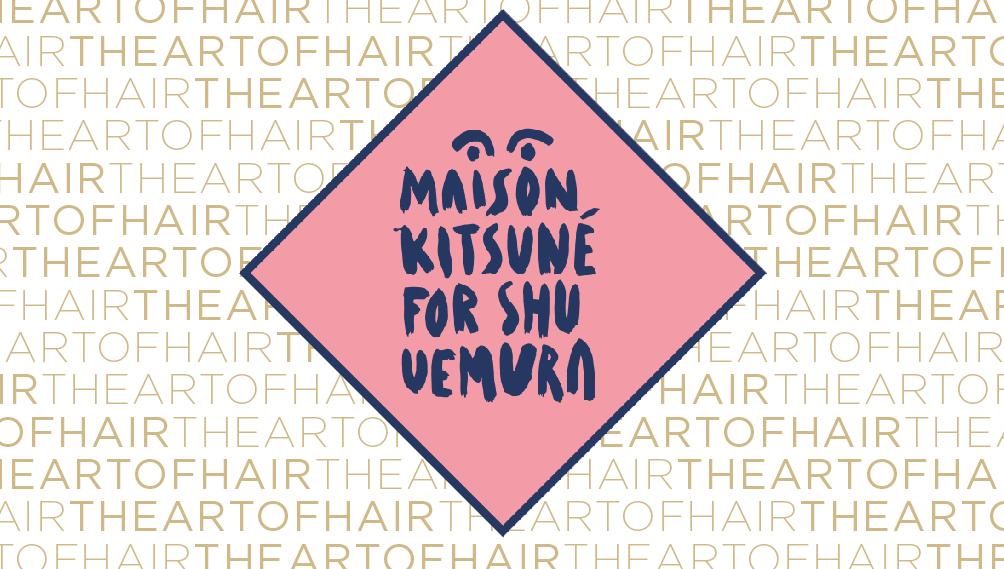 Shu Uemura x Maison Kitsune blog sale