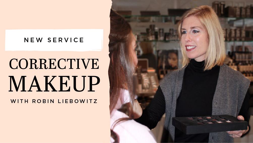 INTERLOCKS Makeup Artist Robin Liebowitz Corrective Makeup new service