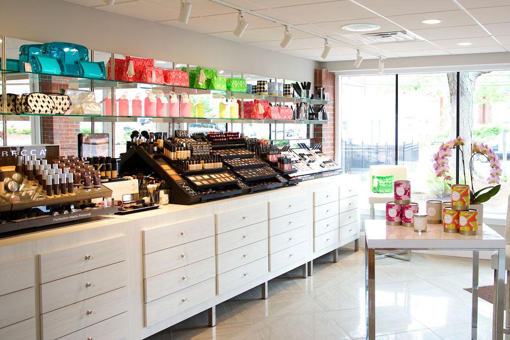 Beauty Apothecary retail cosmetics at INTERLOCKS Salon + Spa