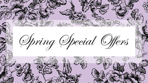 spring special offers at INTERLOCKS