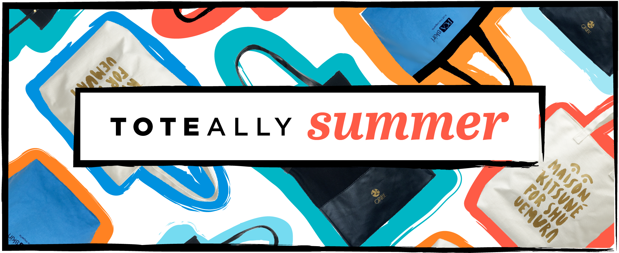 toteally summer beach tote promotion