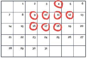 Robby LaRiviere calendar_calendar