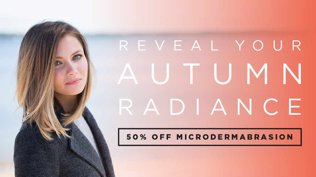 reveal your autumn radiance INTERLOCKS microdermabrasion