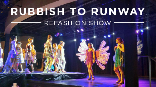 Rubbish to Runway reFashion show blog