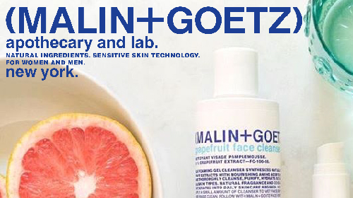 Malin+Goetz now at INTERLOCKS