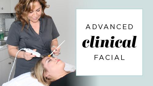 Advanced Clinical Facial blog