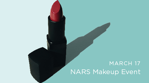 March 17 NARS Makeup Event at INTERLOCKS