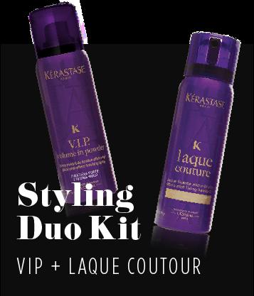 Kerastase styling duo kit