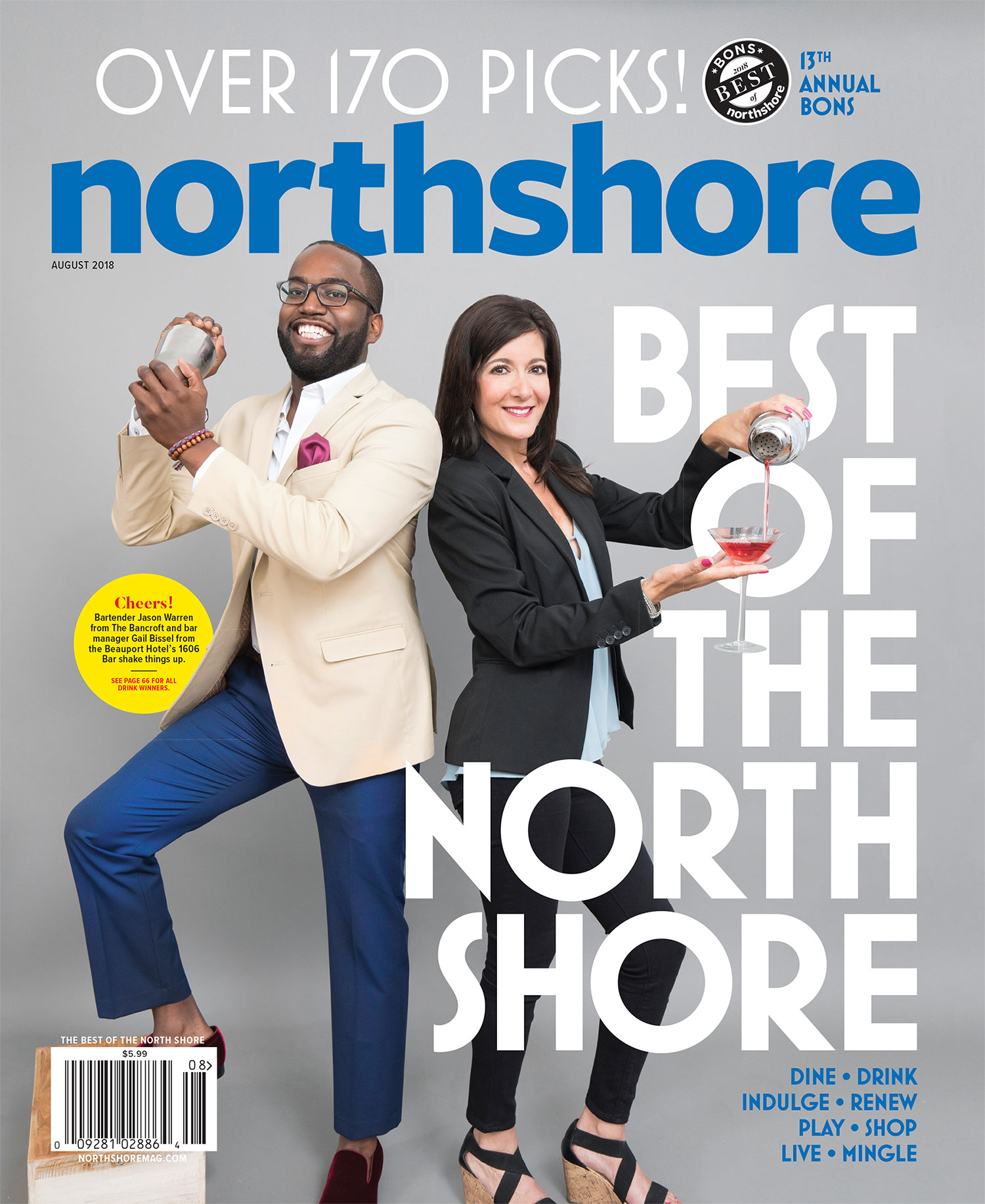 Northshore Magazine August 2018 BONS Issue