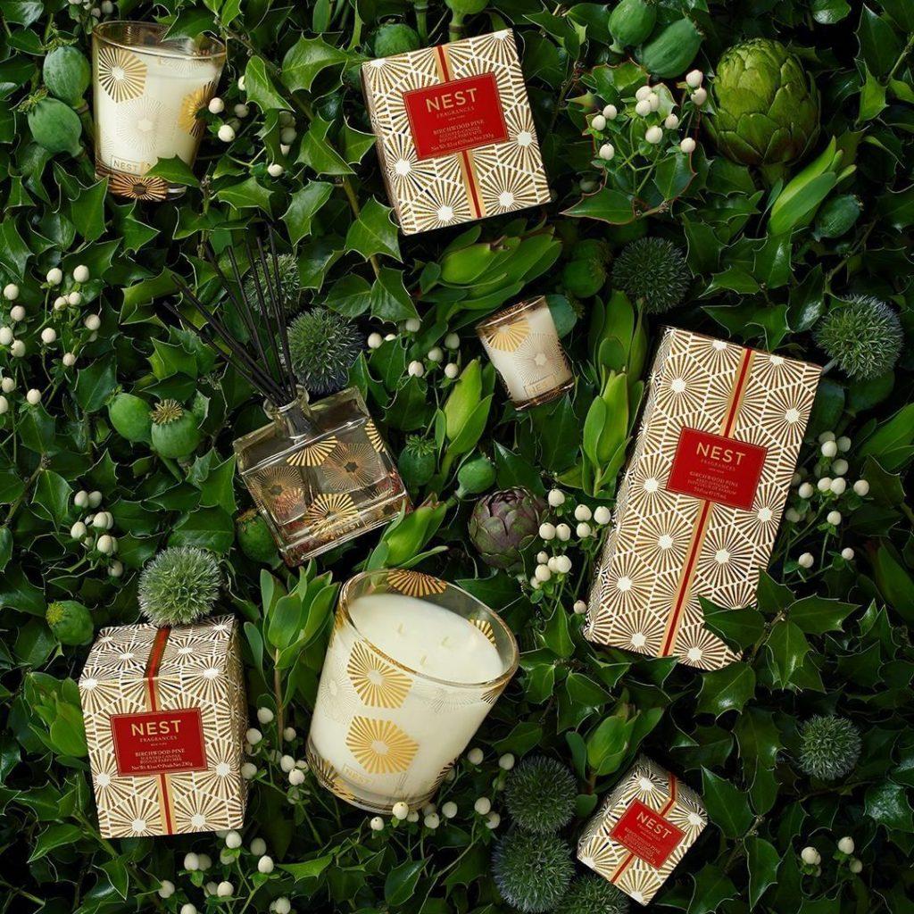 NEST Fragrances holiday products at INTERLOCKS