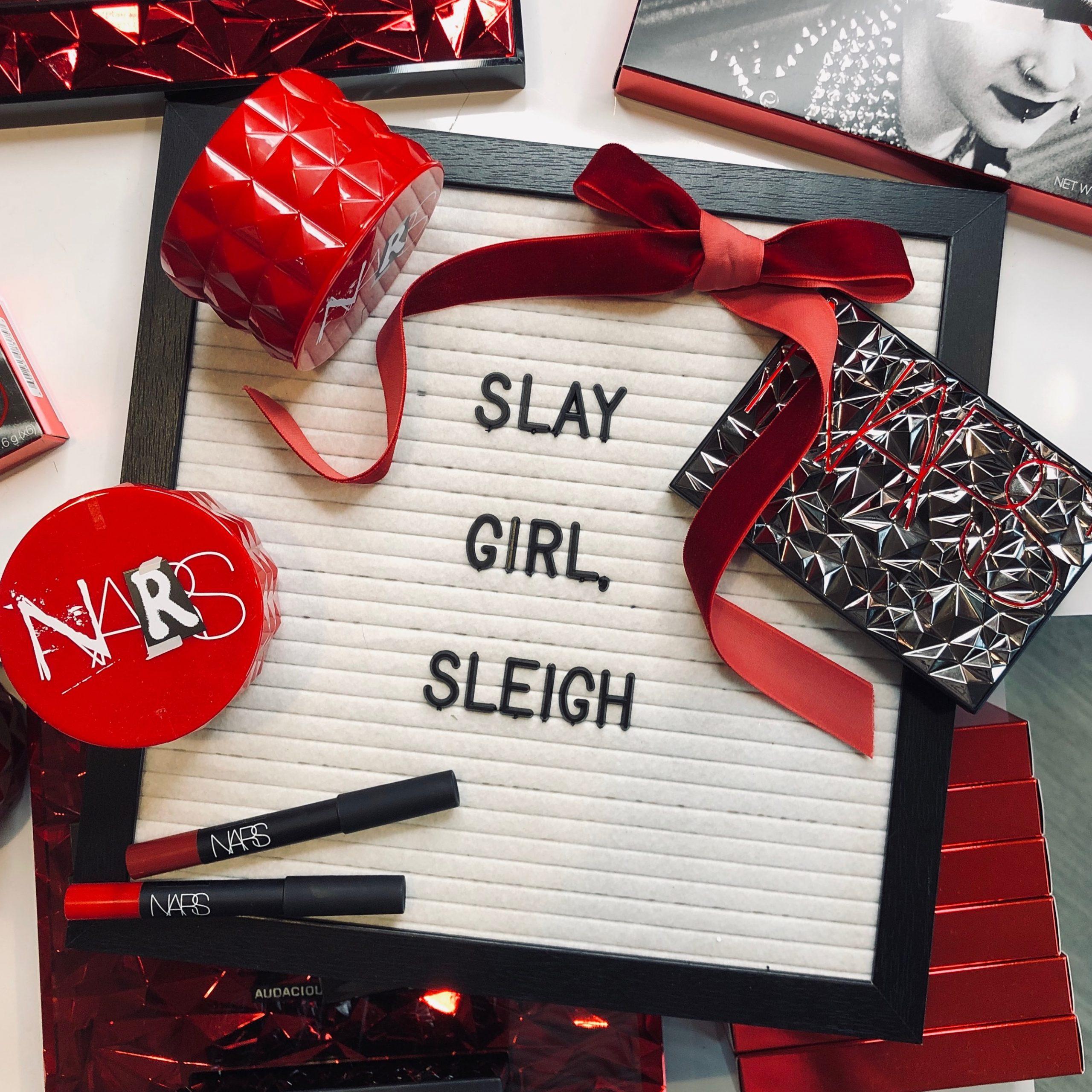 NARS December 2018 makeup event at INTERLOCKS