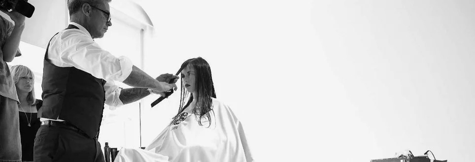 Oribe Canales styling hair